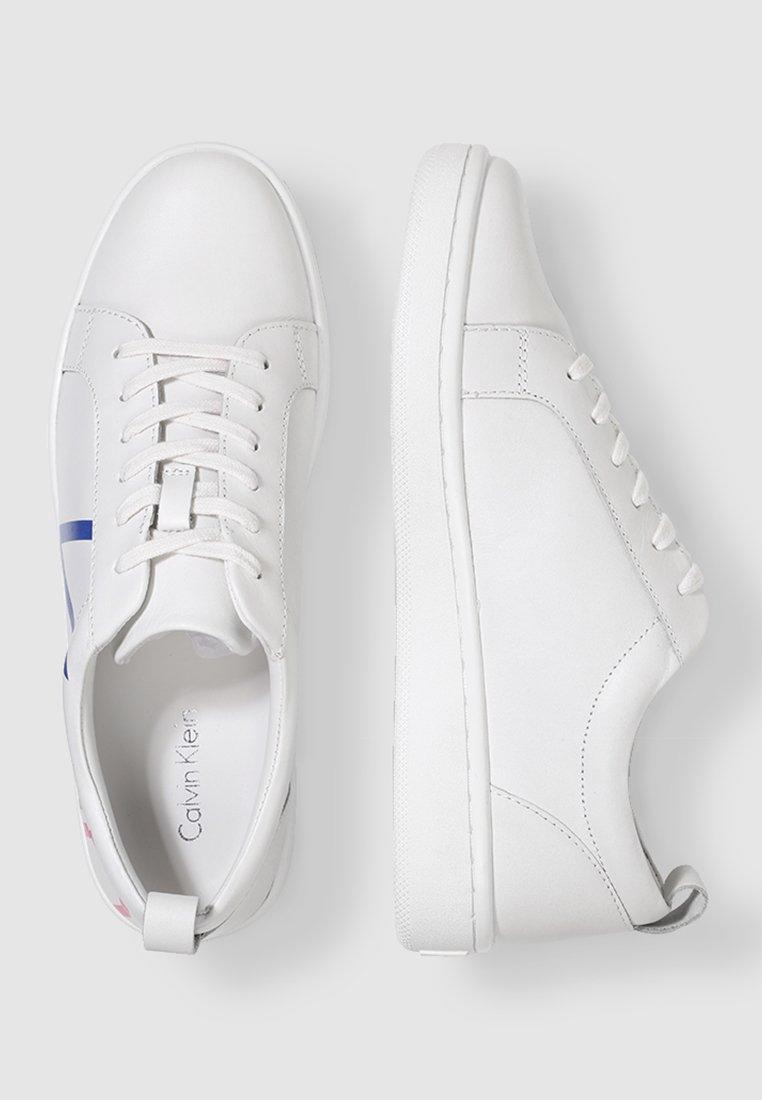 Calvin Klein DANYA - Baskets basses - white/multi