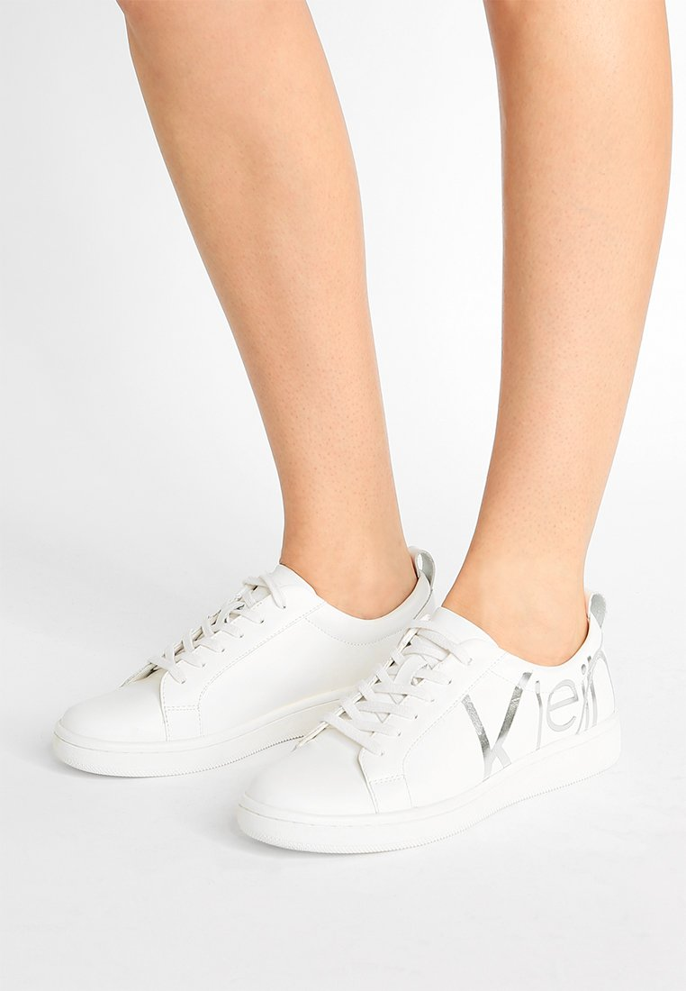 Calvin Klein - DANYA - Trainers - platinum white