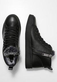 Calvin Klein - SOLEDAD - Vysoké tenisky - black - 2