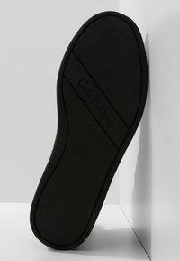 Calvin Klein - SOLEDAD - Vysoké tenisky - black - 5
