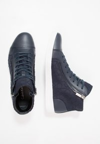 Calvin Klein - BERKE - Sneakers high - navy - 1
