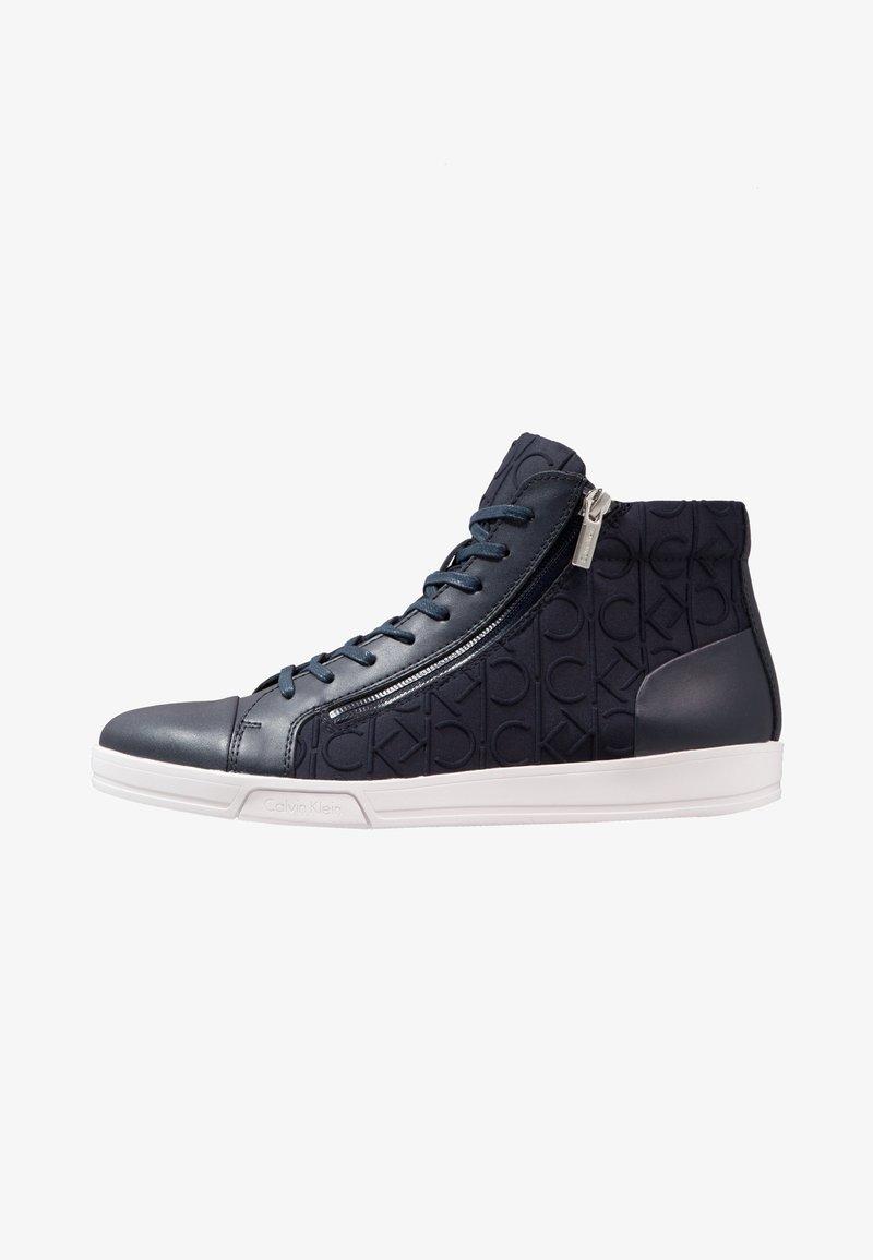Calvin Klein - BERKE - Sneakers high - navy