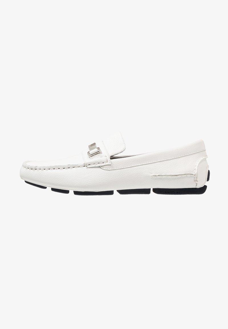 Calvin Klein - MIKOS - Mocasines - white