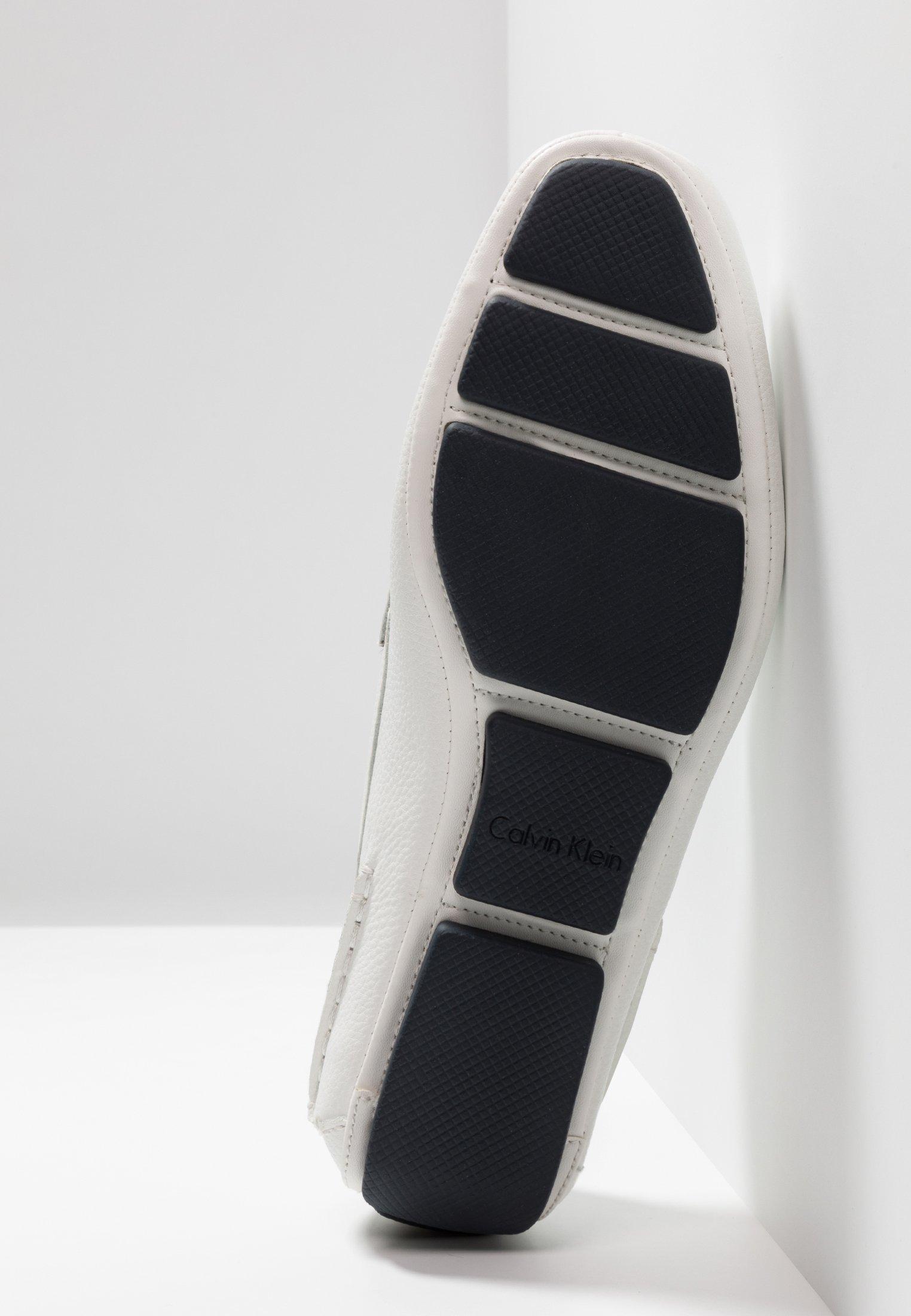 Calvin Klein MIKOS - Mocassins white