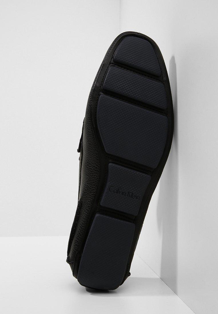 Calvin Klein MIKOS - Mokasyny - black