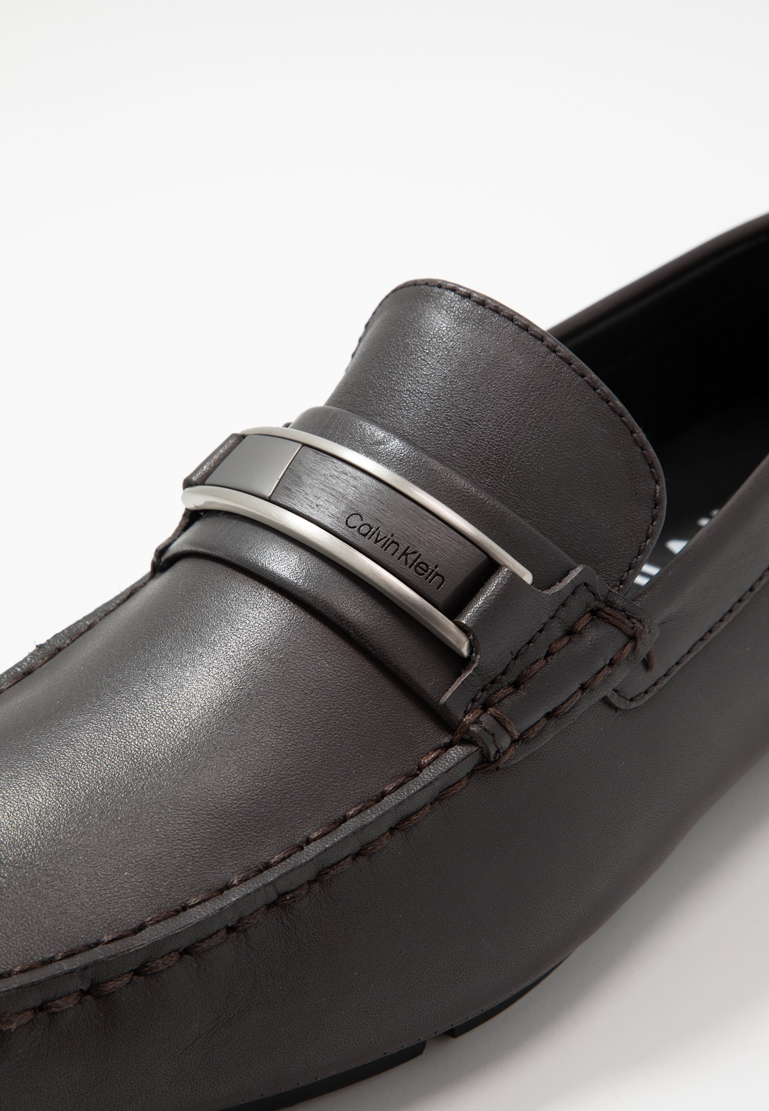 Calvin Klein KELVIN DRESS - Mokkasiner - dark brown