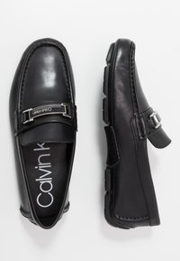 Calvin Klein - KIERSON - Mokasíny - black - 1