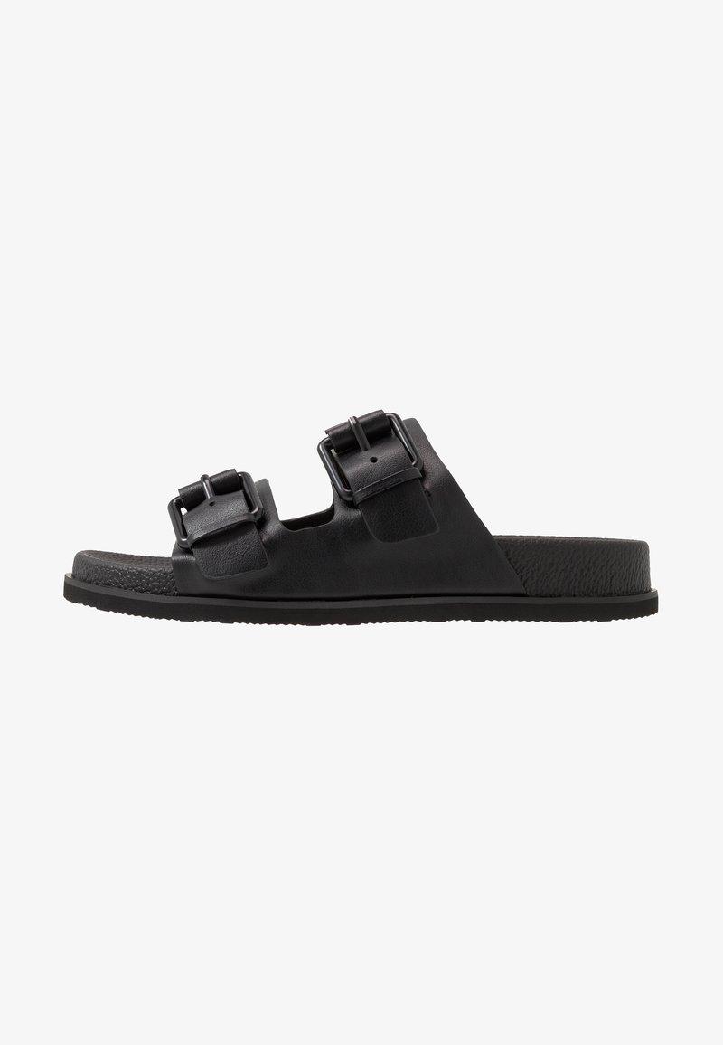 Calvin Klein - MELVIN - Slippers - black