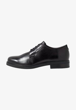 FLORIN DERBY  - Stringate eleganti - black