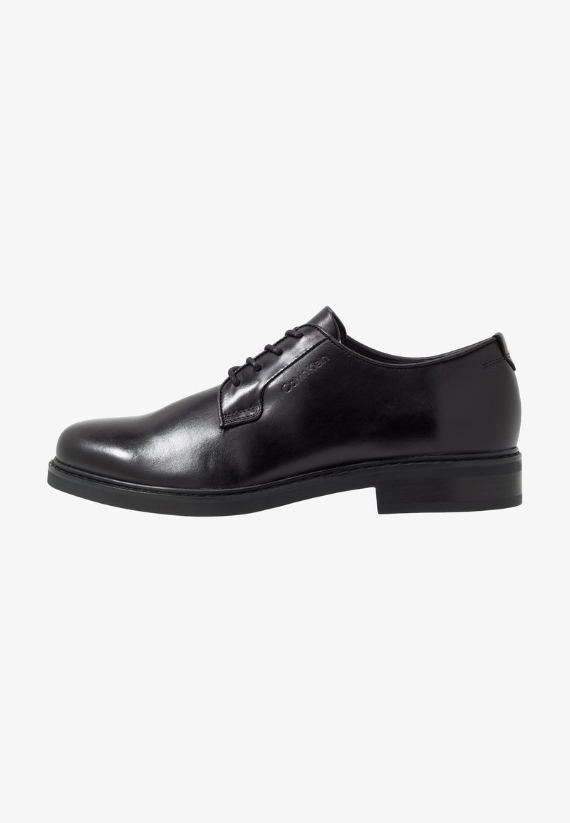 Calvin Klein - FLORIN DERBY  - Eleganckie buty - black