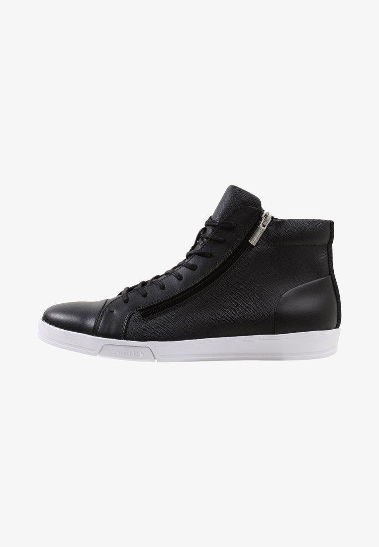 Calvin Klein - BERKE - Vysoké tenisky - black