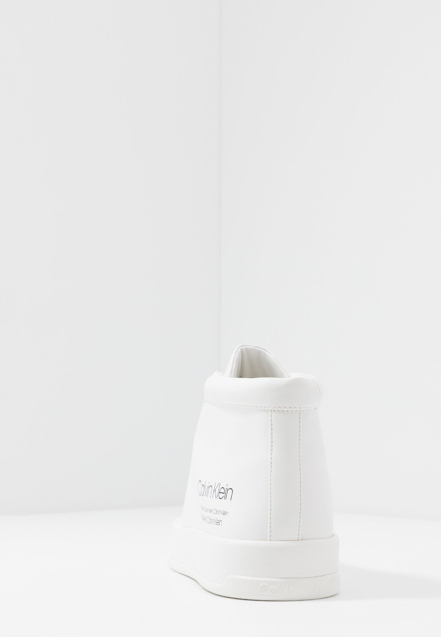 Calvin Klein FERGUSTO - Sneakers high - white c6xgA