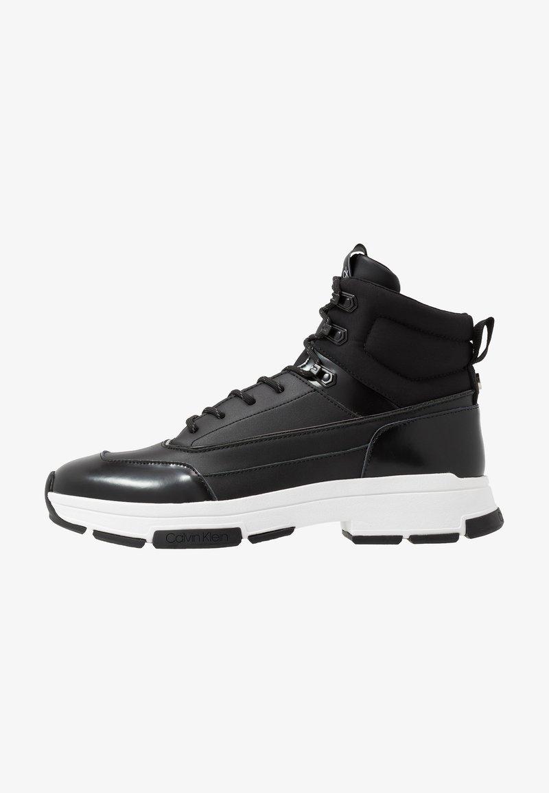 Calvin Klein - CADO LACE UP BOOTIE - Vysoké tenisky - black