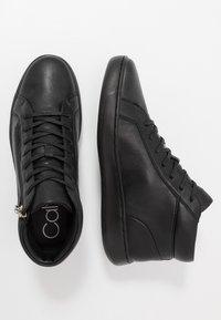 Calvin Klein - FRANSISCO HIGH TOP LACE UP - Baskets montantes - black - 1
