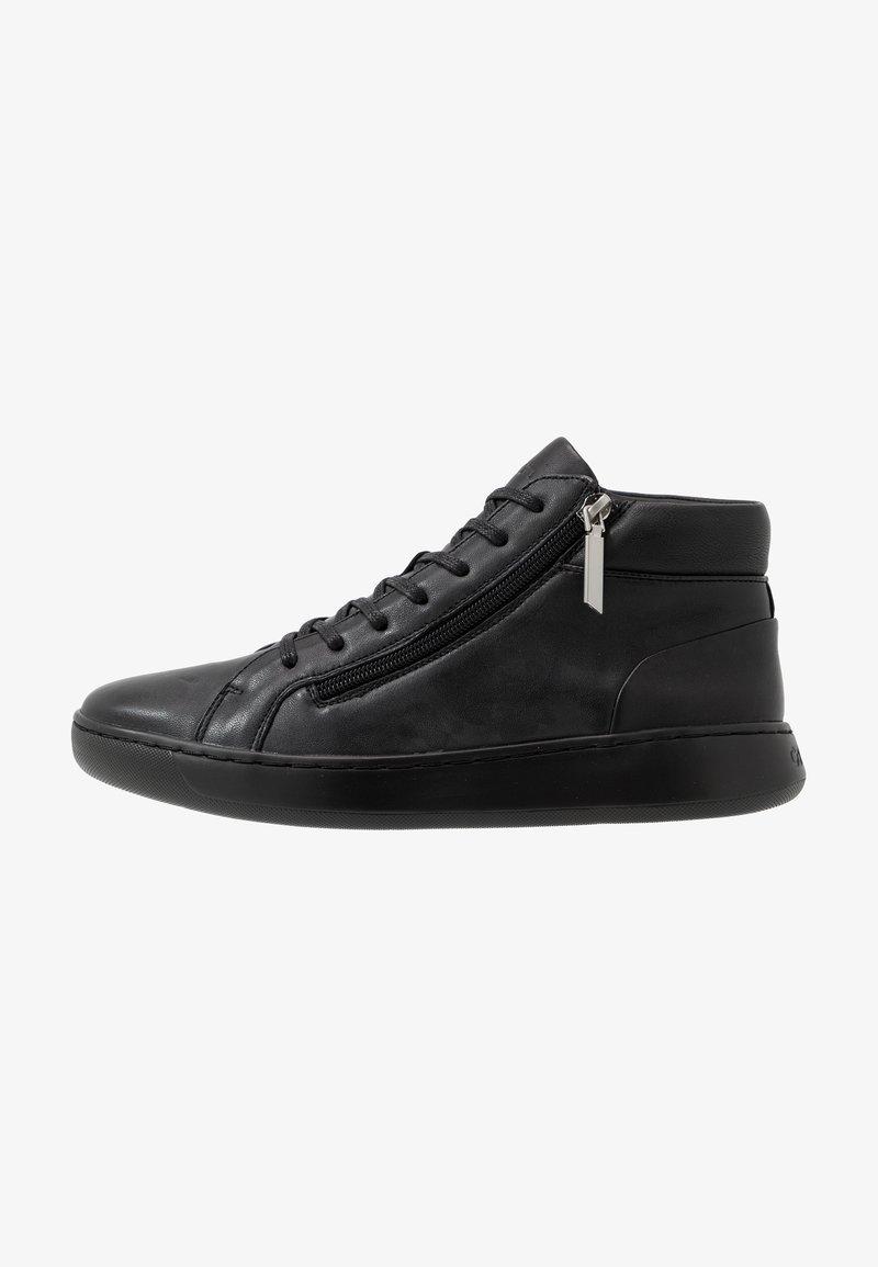 Calvin Klein - FRANSISCO HIGH TOP LACE UP - Baskets montantes - black