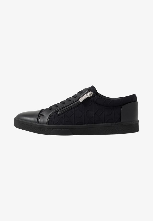 IBRAHIM BRUSHED - Baskets basses - black