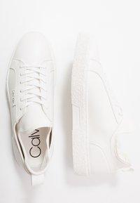 Calvin Klein - EDWYN LOW TOP LACE UP - Sneakers - white - 1