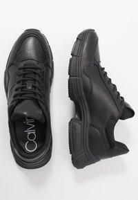 Calvin Klein - DEMOS TOP LACE UP - Tenisky - black - 1