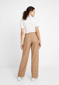 Calvin Klein - WINDOW PANE CHK PLEATED STL PANT - Bukser - multi - 2