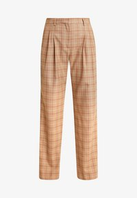 Calvin Klein - WINDOW PANE CHK PLEATED STL PANT - Bukser - multi - 3