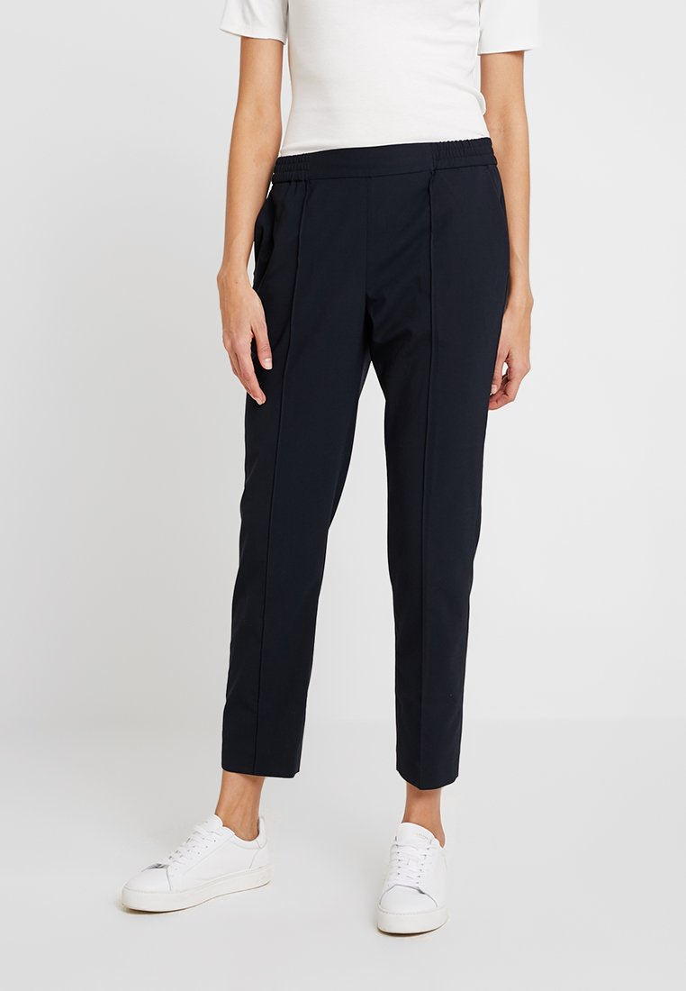 Calvin Klein - POP CIGARETTE PANT - Spodnie materiałowe - blue