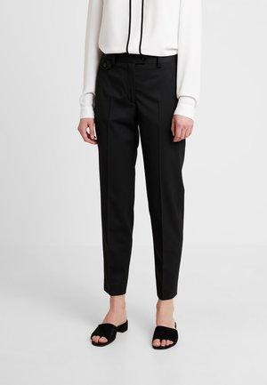 DETAIL CIGARETTE PANT - Trousers - black