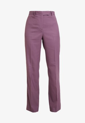 FINE CIGARETTE PANT - Kalhoty - purple