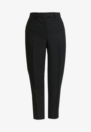 UNIFORM TWILL CIGARETTE PANT - Trousers - black