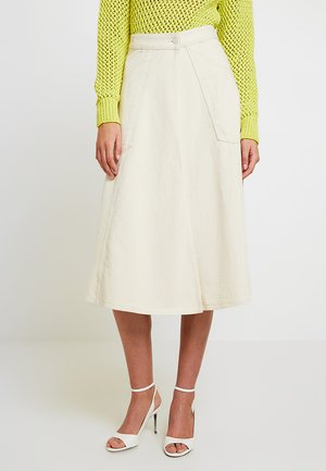 WRAP SKIRT - Gonna a campana - off white