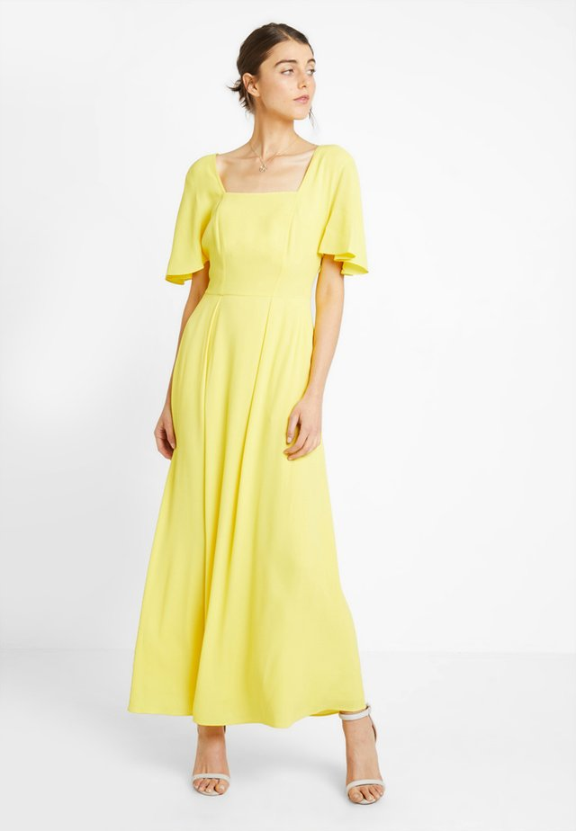 PRAIRIE DRESS - Maxi-jurk - yellow