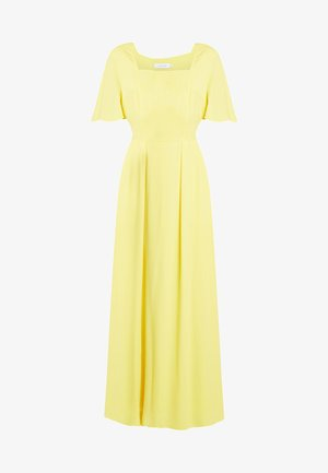 PRAIRIE DRESS - Maxi dress - yellow