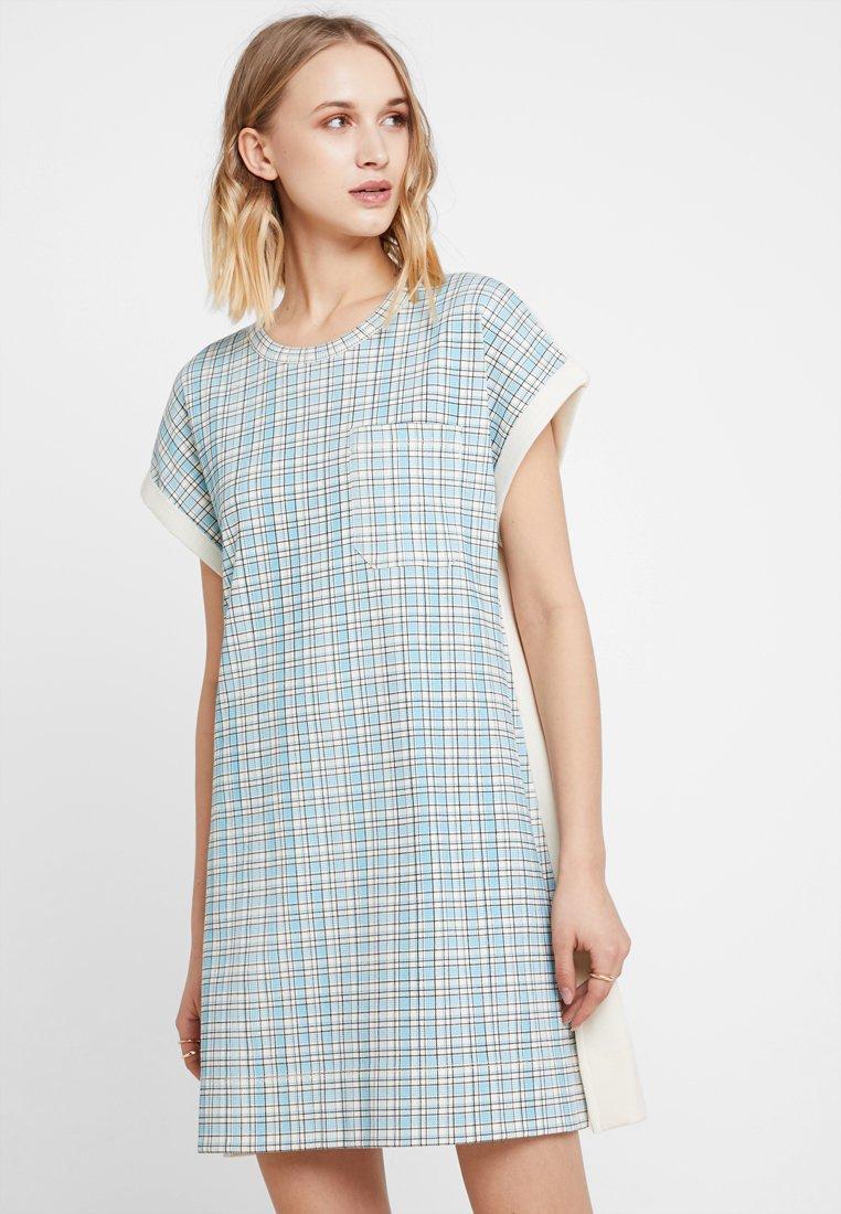 Calvin Klein - FARMHOUSE CHECK TANK DRESS - Jersey dress - multi