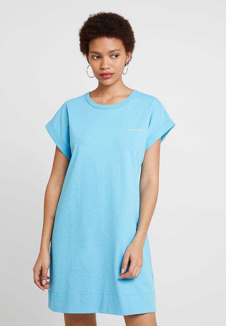 Calvin Klein - DRESS - Jerseyklänning - blue