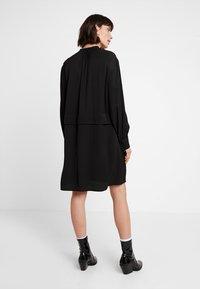 Calvin Klein - PIONEER DRESS - Day dress - black - 3