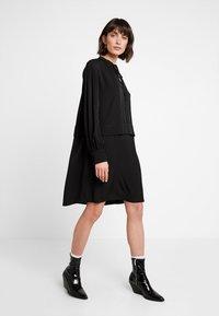 Calvin Klein - PIONEER DRESS - Day dress - black - 2