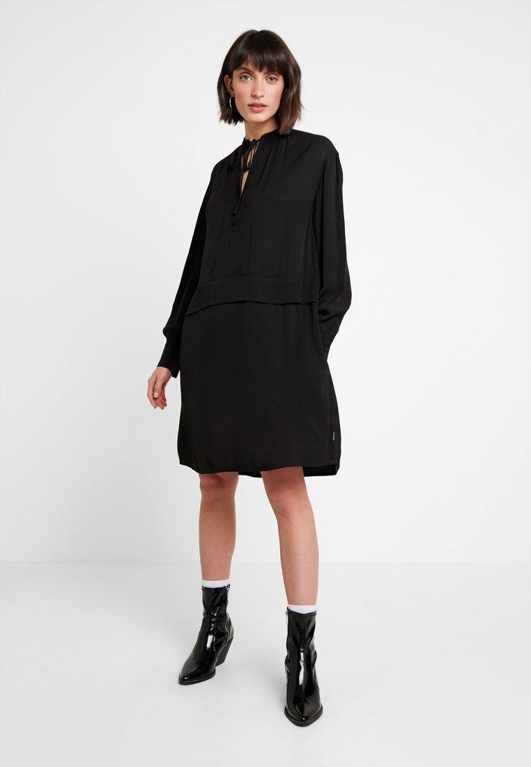 Calvin Klein - PIONEER DRESS - Day dress - black