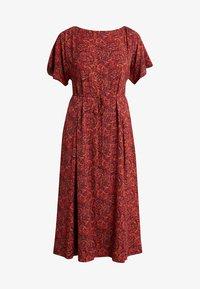 Calvin Klein - BOAT PANEL DRESS - Denní šaty - multi - 3