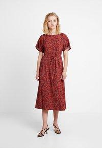 Calvin Klein - BOAT PANEL DRESS - Denní šaty - multi - 0