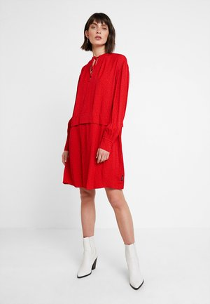 PIONEER DRESS - Day dress - red
