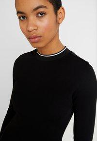 Calvin Klein - 3/4 SLEEVE DRESS - Jerseykjole - black - 6