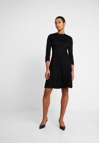 Calvin Klein - 3/4 SLEEVE DRESS - Jerseykjole - black - 2