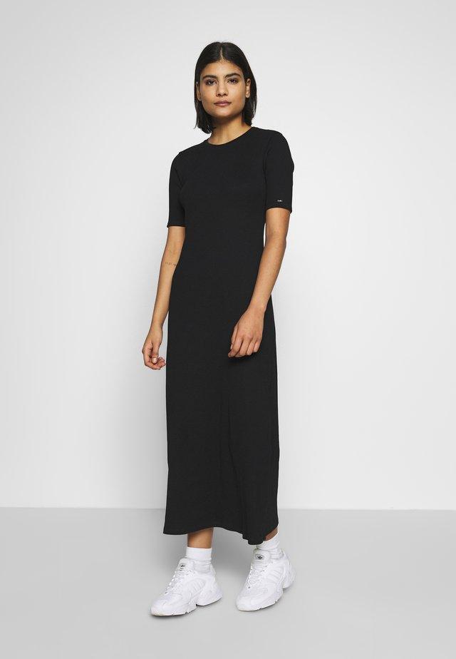 MIDI DRESS - Maxi-jurk - calvin black