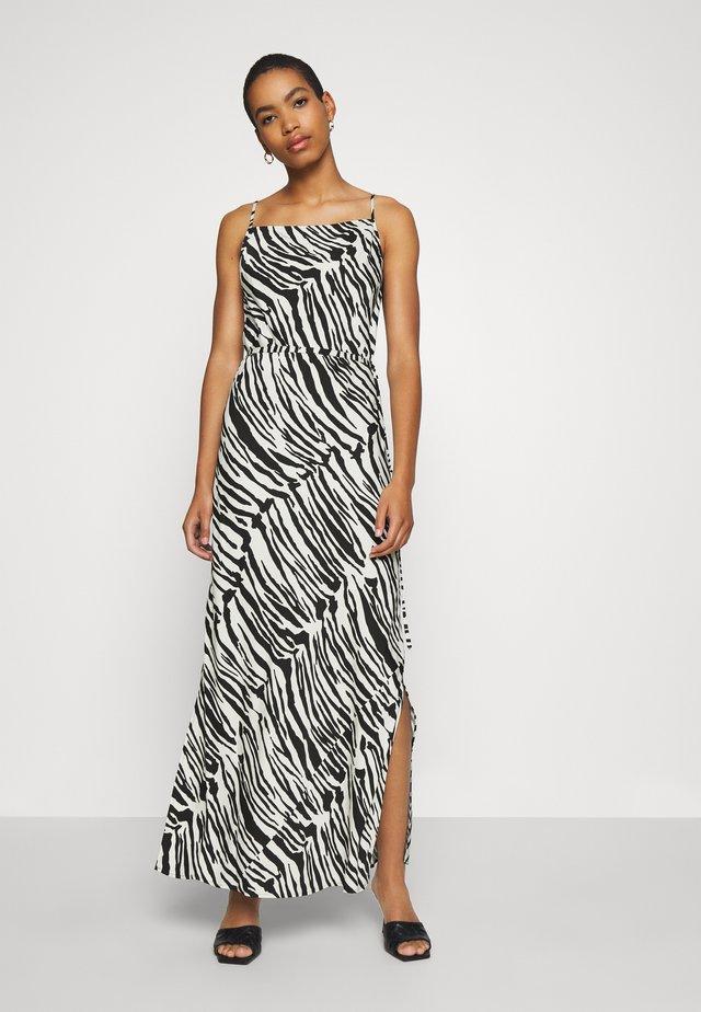 Długa sukienka - black/white