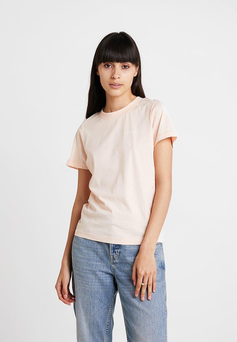 Calvin Klein - SMALL CHEST LOGO - T-Shirt print - pink