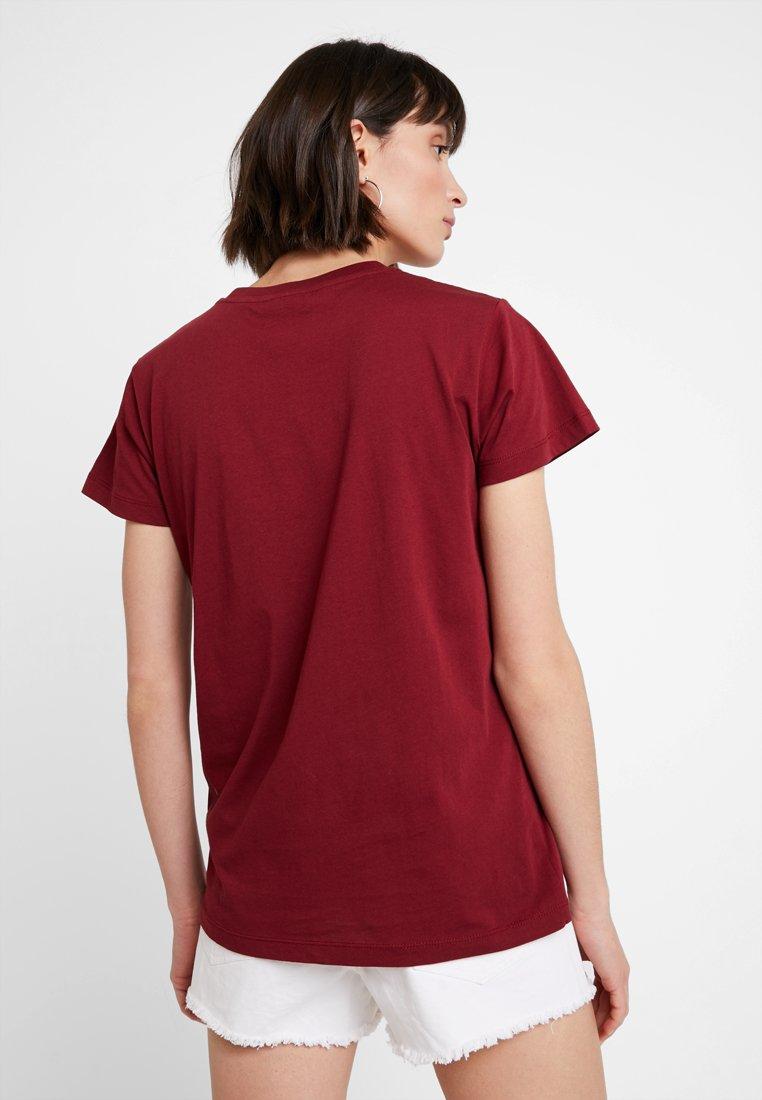 shirt Red Calvin LogoT Duo Imprimé Klein pzVGLqSUM