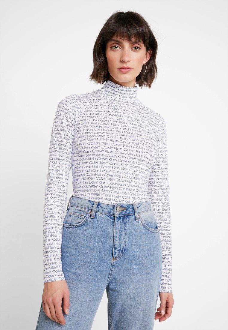 Calvin Klein - TURTLE - Maglietta a manica lunga - blue