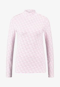 Calvin Klein - TURTLE - T-shirt à manches longues - red - 4