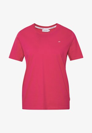 SMALL LOGO EMBROIDERED - T-shirt basic - island pink