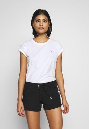 TURN UP - T-Shirt basic - calvin white