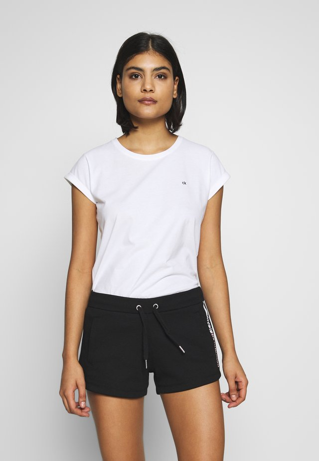 TURN UP - T-shirt basique - calvin white